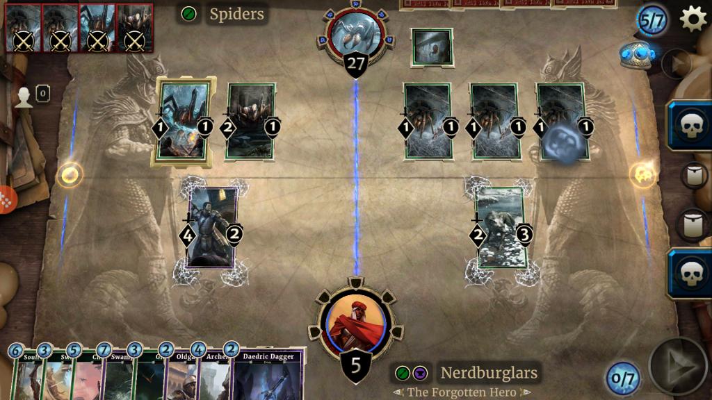 card gameplay