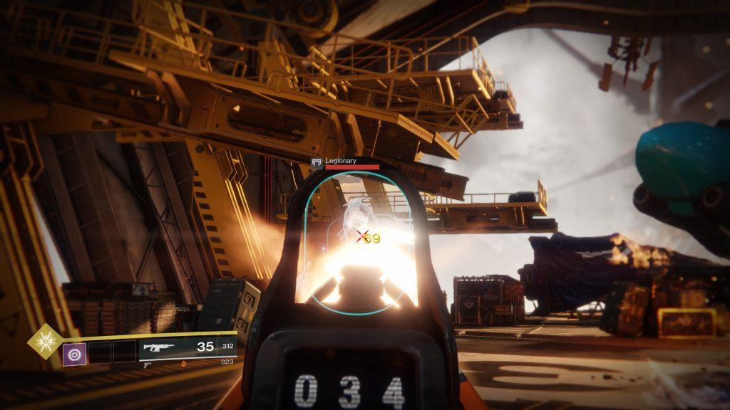 Destiny 2 Combat