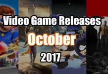 Video Games Releases October 2017 Image