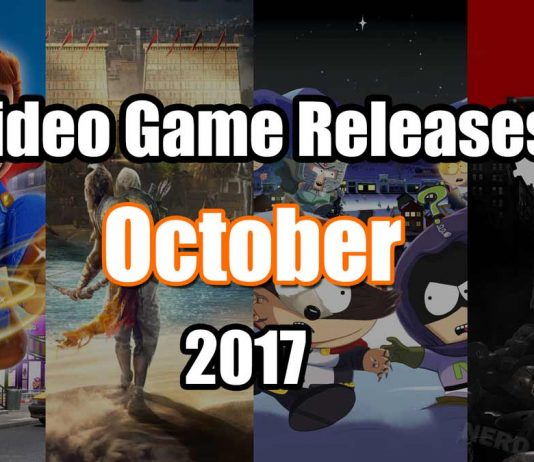 October 2017 Game Releases