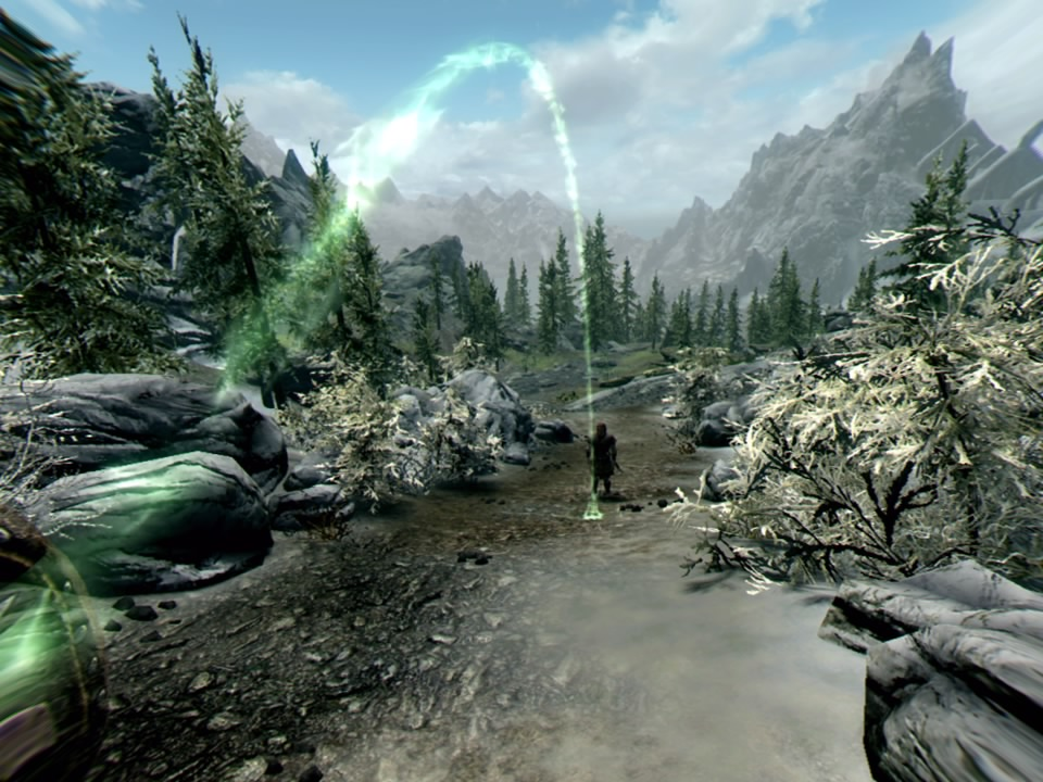 Skyrim VR Movement