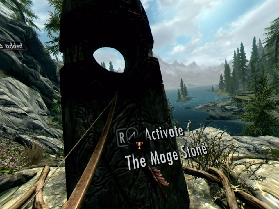 Skyrim VR Interacting With Ovject