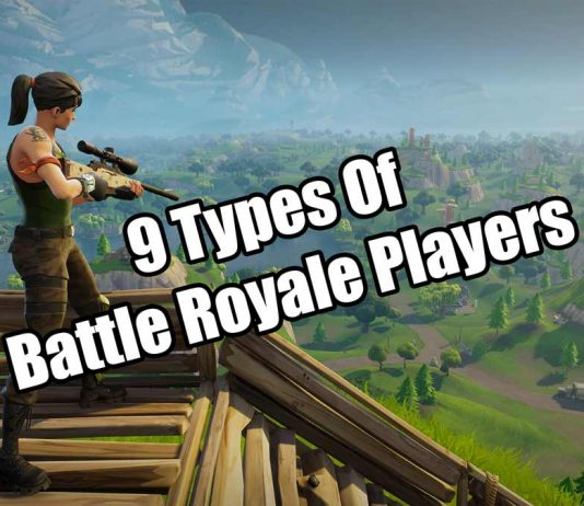 9 Types Of Fortnite Players Image