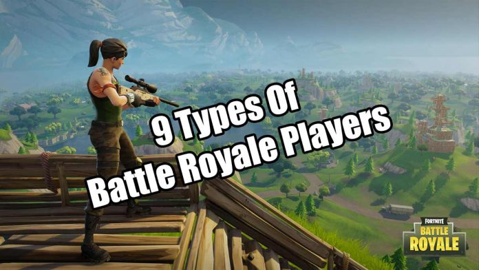 types of fortnite players