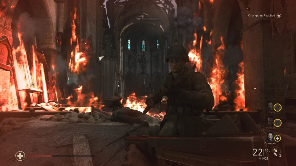 call of duty wwii battle