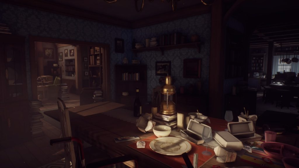 What Remains of Edith Finch Living Room