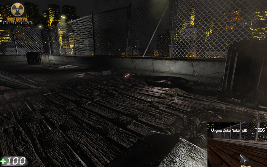 Duke Nukem Reloaded Comparison