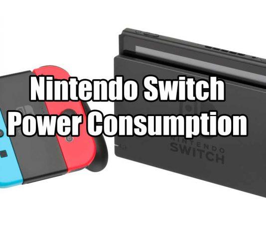 Nintendo Switch Power Consumption