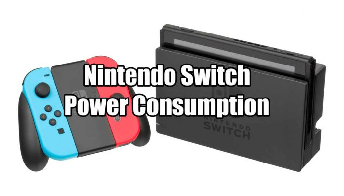 Nintendo Switch Power Consumption