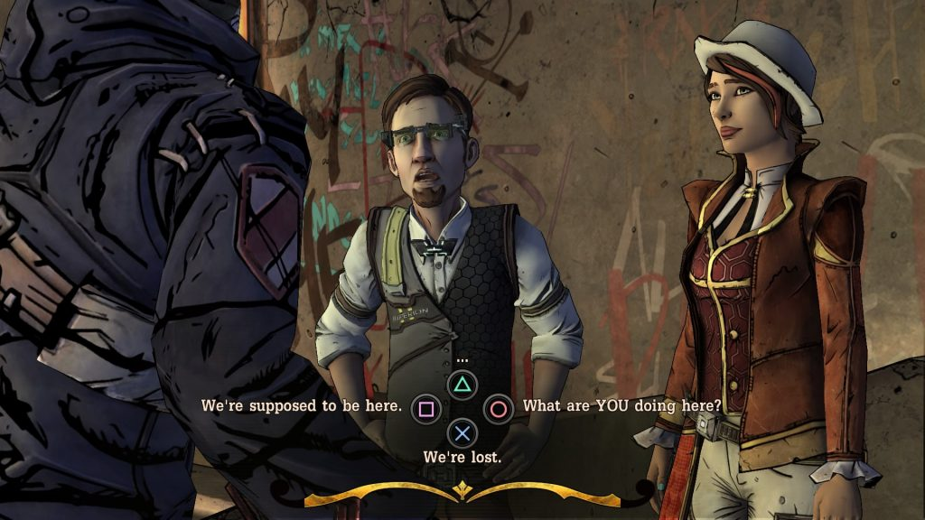 Tales from the Borderlands Dialog