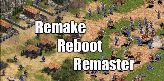 Remake vs Remaster vs Reboot