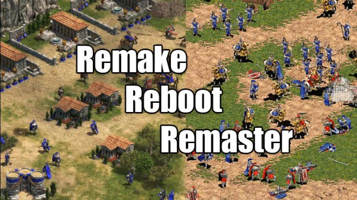 Remake vs Remaster