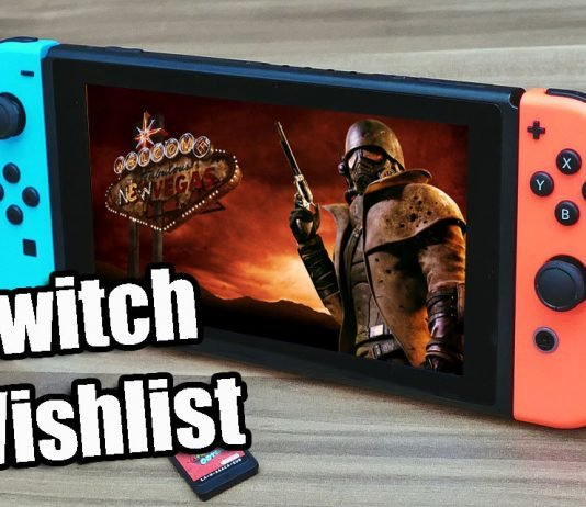 Nintendo Switch Wishlist