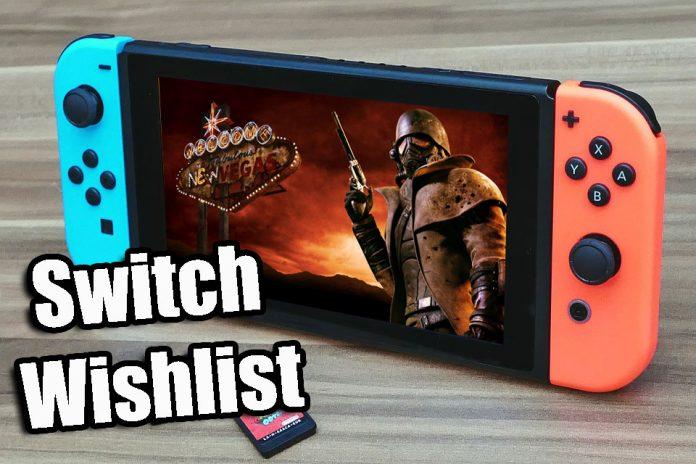 Nintendo Switch Wishlist