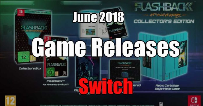 Nintendo Switch Game Releases June 2018