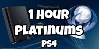 1 hour platinum trophy