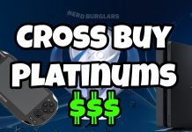 Cross Buy Platinum Trophies