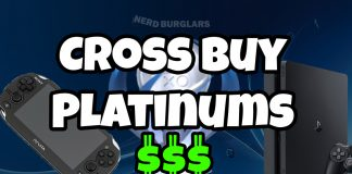 Easy Cross Buy Platinums (Vita and PS4)