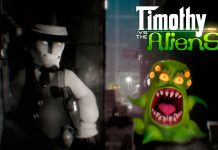 Timothy vs the aliens wallpaper