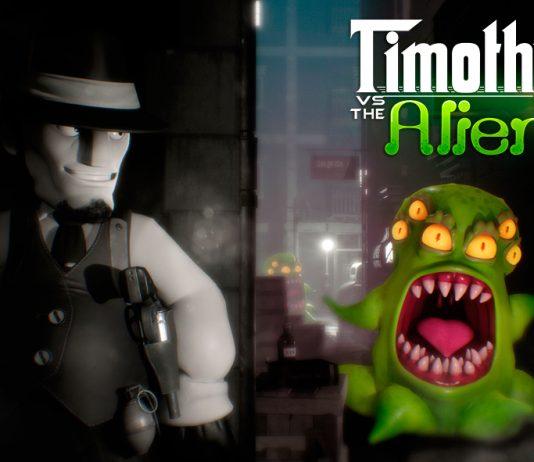 Timothy vs the aliens wallpaper