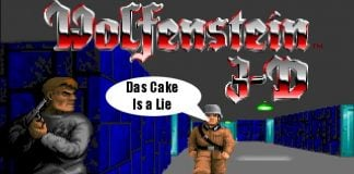What the soldiers in Wolfenstein are saying