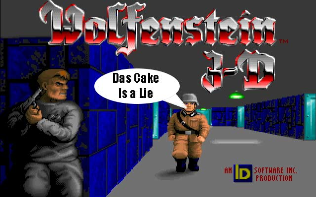 soldiers in Wolfenstein saying
