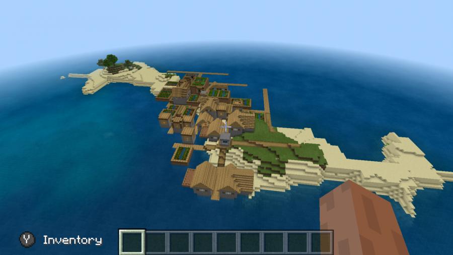 Survival island village