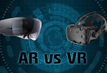 The Difference Between VR and AR Image