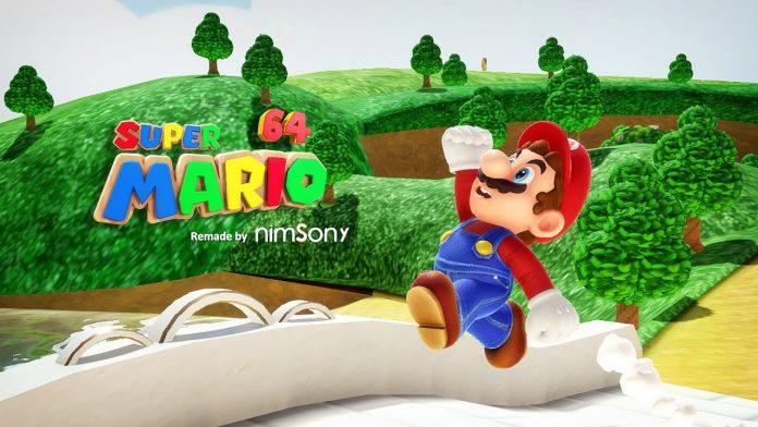 Fan Made Super Mario