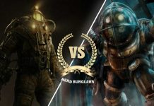 Bioshock big daddy battle