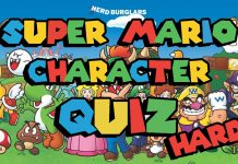 Hard super mario character quiz