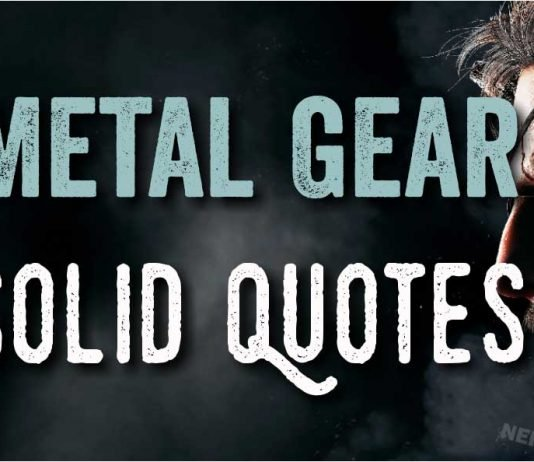 Best Quotes from Metal Gear Solid Image