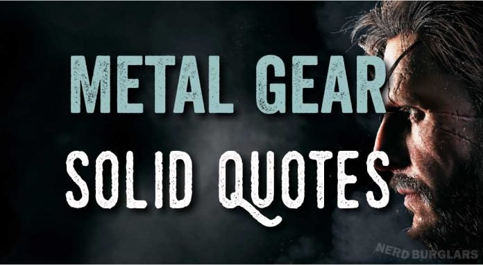 Metal Gear Solid quotes