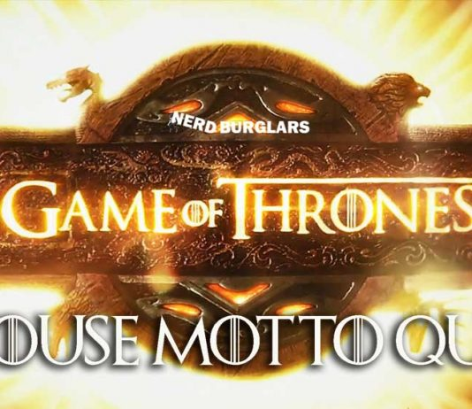 Game of Thrones Motto Quiz