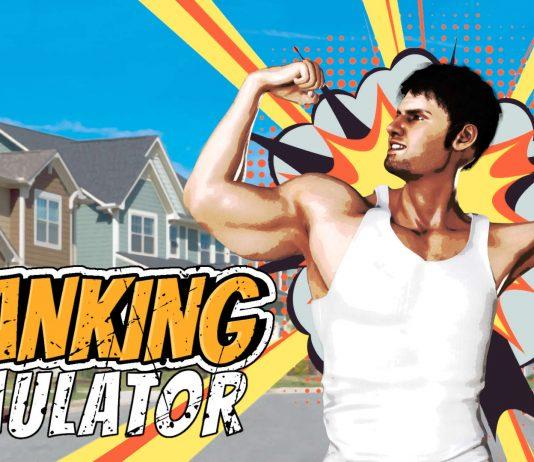 wanking simulator game poster