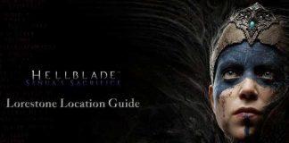 Hellblade Lorestone Location Guide