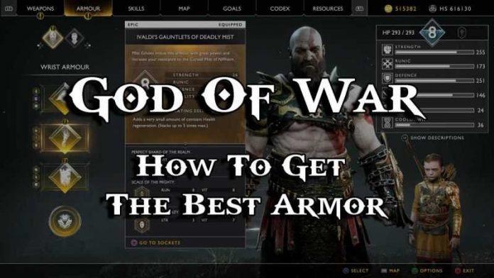 Best Armor Set In God of War