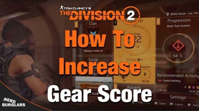 Increase Gear Score In Division 2 Fast
