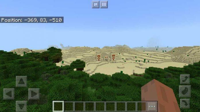 junglle seed desert temple