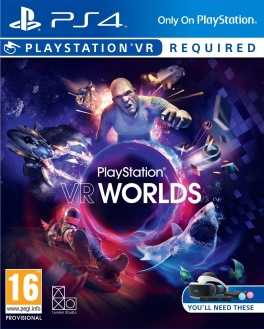 PlayStation VR Worlds Boxart