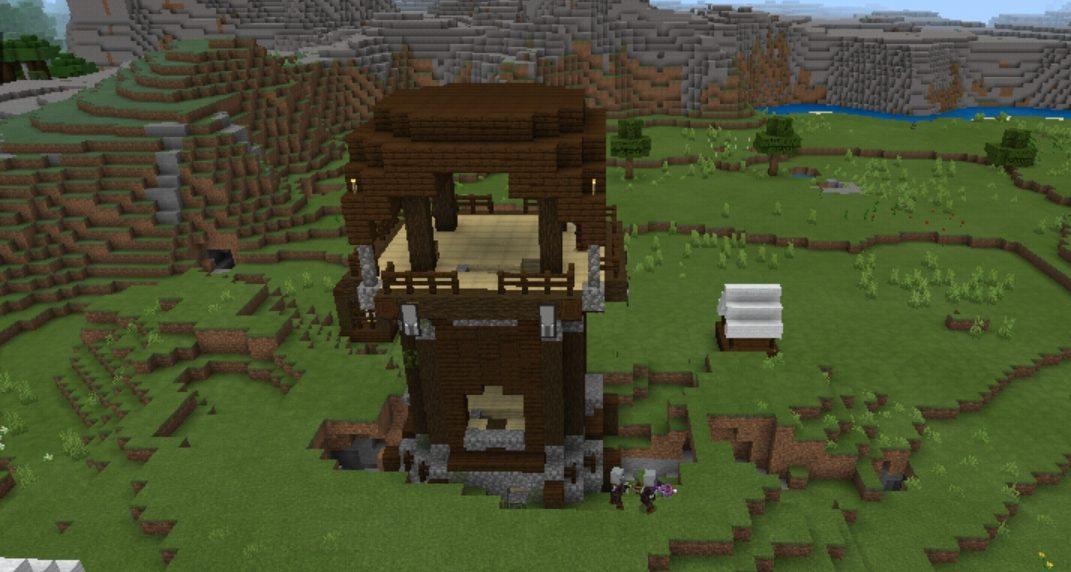 village in minecraft
