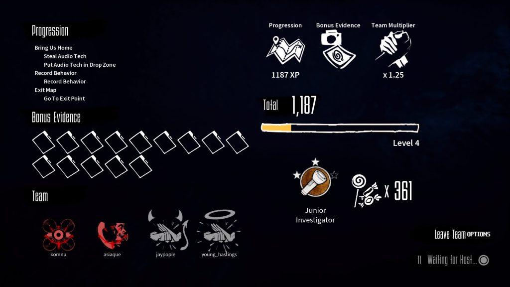 blackout club game summary