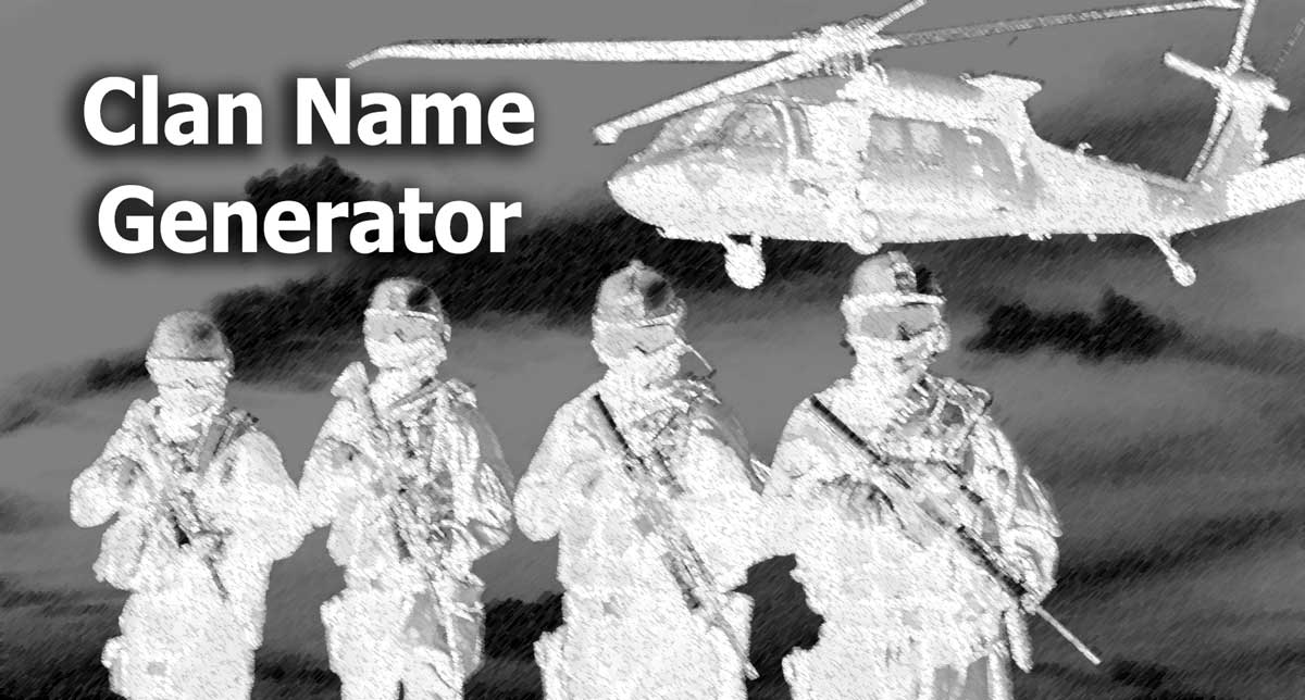 Cool clan names for fortnite generator