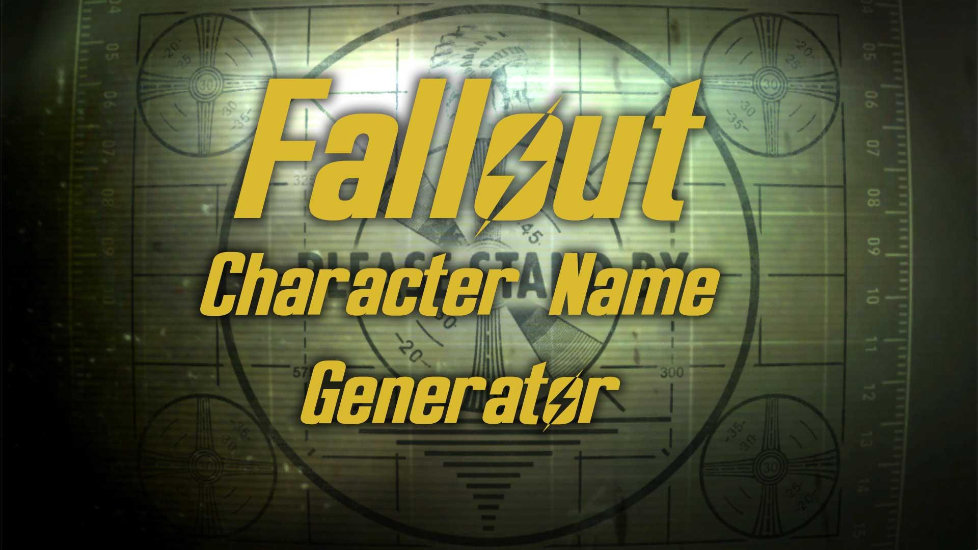 fallout name generator