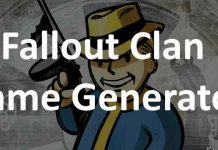 Fallout clan name generator