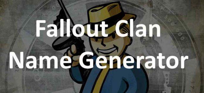 Fallout clan name generator