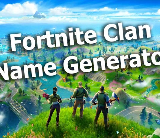 Fortnite Clan Name Generator Image