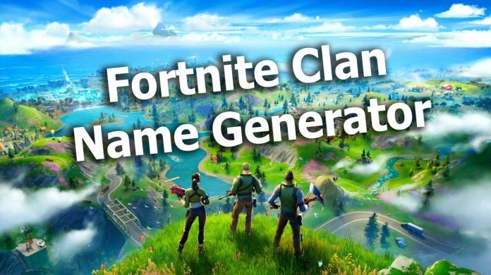 Fortnite Clan Name Generator