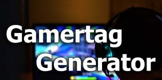 Xbox Gamertag Generator
