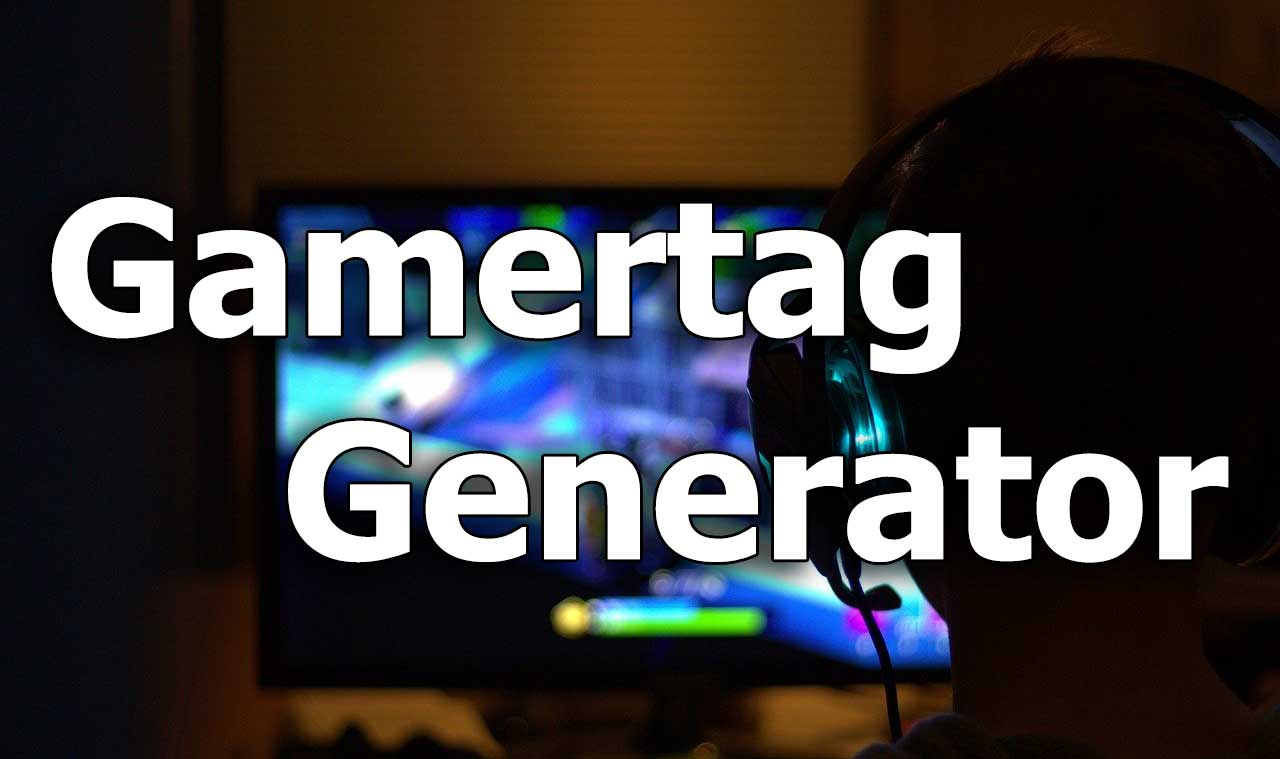 Xbox Gamertag Generator , Cool Name Ideas , Nerdburglars Gaming